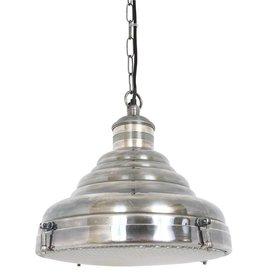 Industriële verlichting Hanglamp Dexter Antiek Zilver