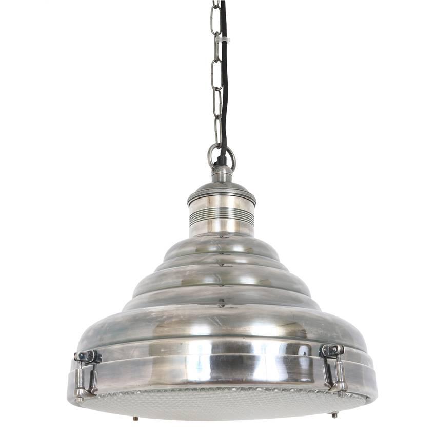 Industriële verlichting IndustriÃ«le hanglamp Dexter Antiek Zilver