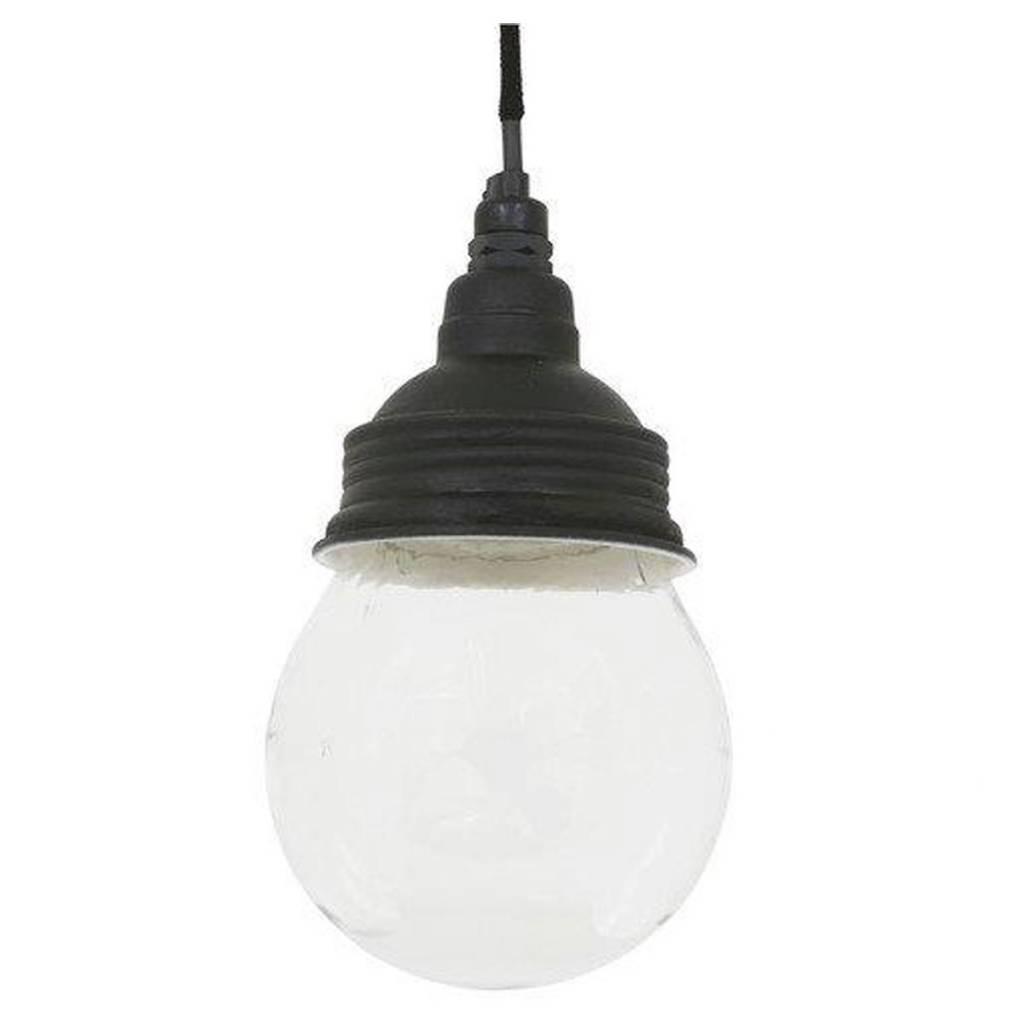Industriële verlichting IndustriÃ«le hanglamp Vidro Antiek Mat Zwart