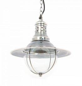 Industriële verlichting Hanglamp Wellington Antiek Zilver