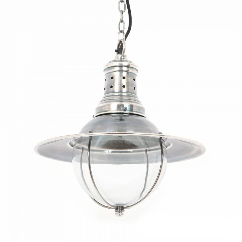 Industriële verlichting IndustriÃ«le hanglamp Wellington Antiek Zilver