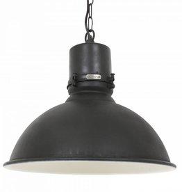 Industriële verlichting Hanglamp Stockport Antiek Mat Zwart