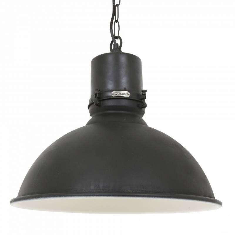 Industriële verlichting Industriële hanglamp Stockport Antiek Mat Zwart