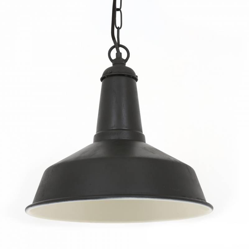 Industriële verlichting IndustriÃ«le hanglamp Regis Antiek Mat Zwart