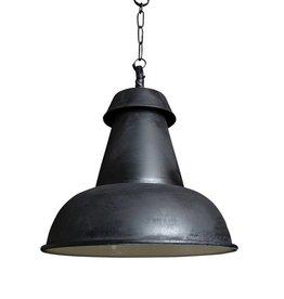 Industriële verlichting Hanglamp Logan Antiek Mat Zwart