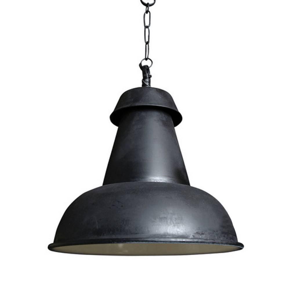 Industriële verlichting IndustriÃ«le hanglamp Logan Antiek Mat Zwart