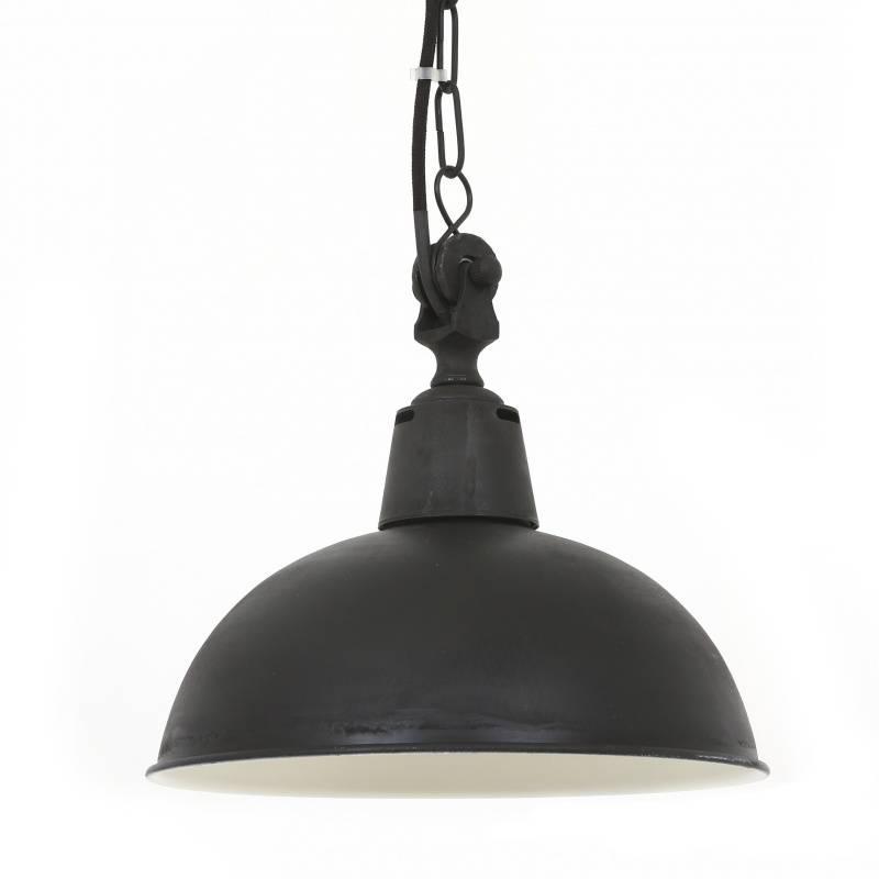 Industriële verlichting IndustriÃ«le hanglamp Lamont Antiek Mat Zwart