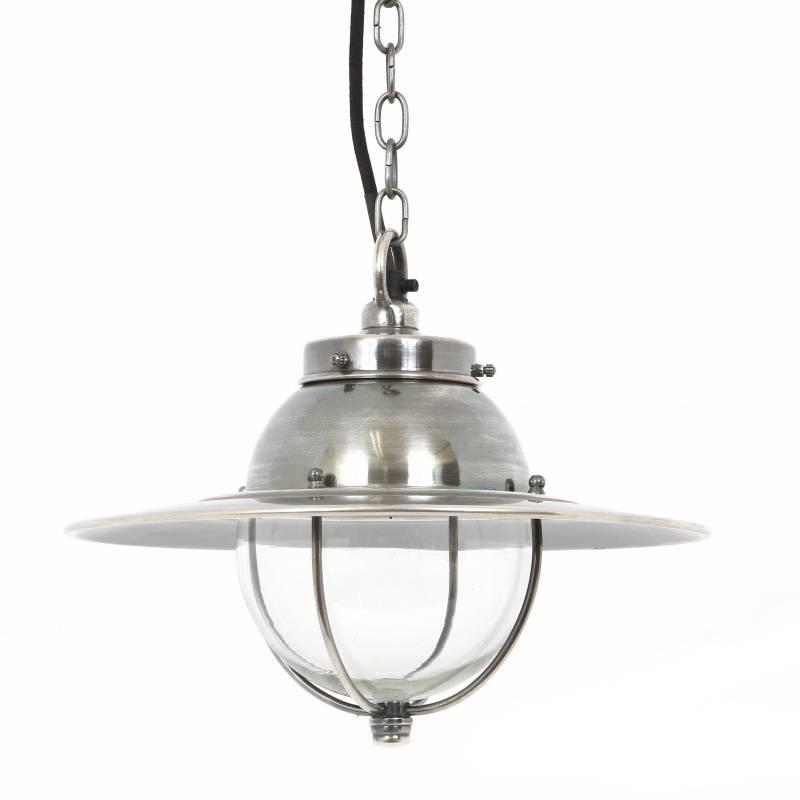 Industriële verlichting IndustriÃ«le hanglamp Nelson Antiek Zilver