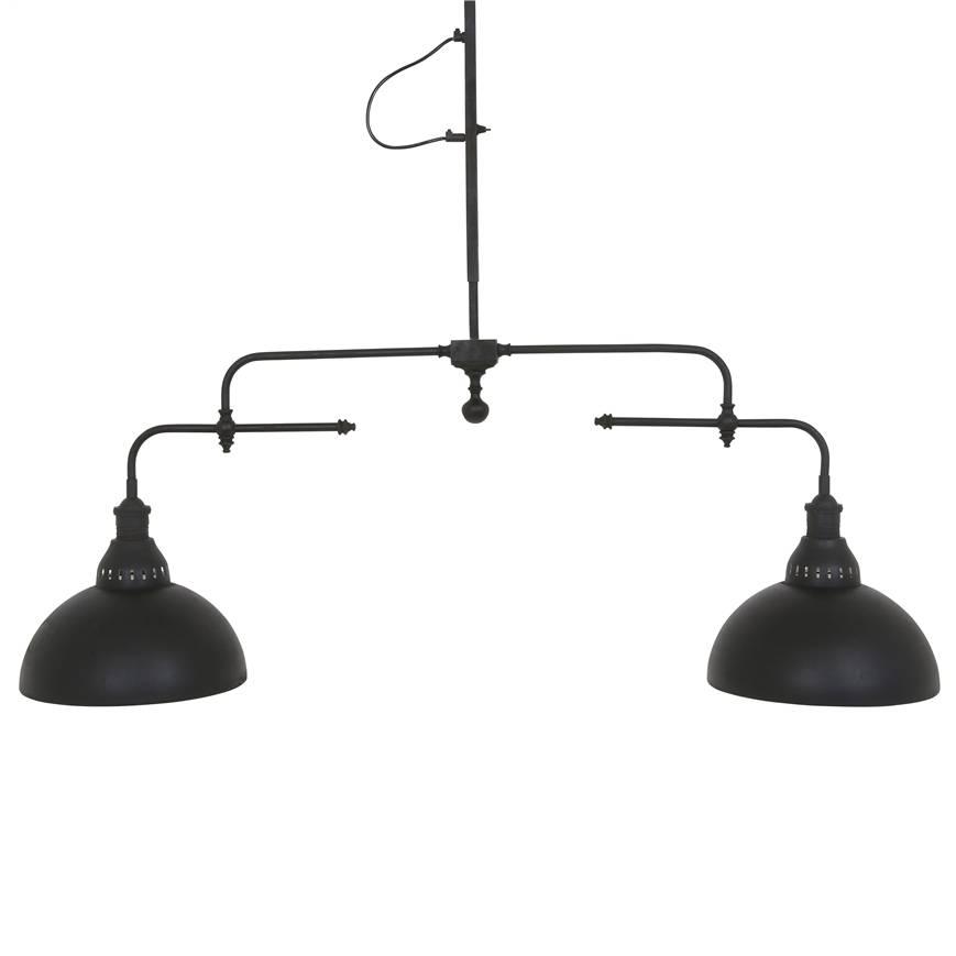 Industriële verlichting IndustriÃ«le hanglamp Nevada Antiek Mat Zwart