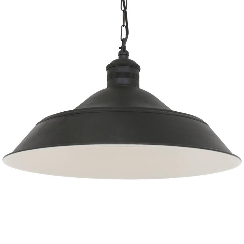 Industriële verlichting IndustriÃ«le hanglamp Lisbon Antiek Mat Zwart