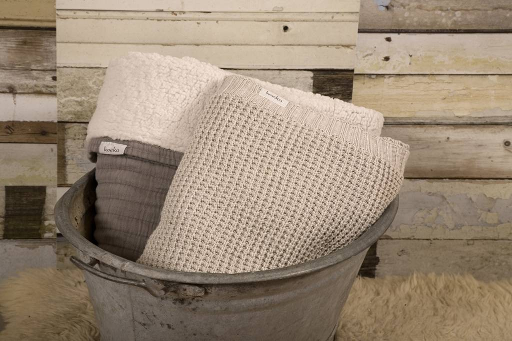 Koeka Home Koeka plaid Vermont Pebble