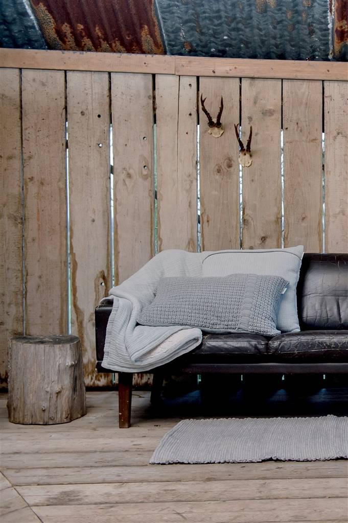 Koeka Home Koeka kussenhoes Trento Grey