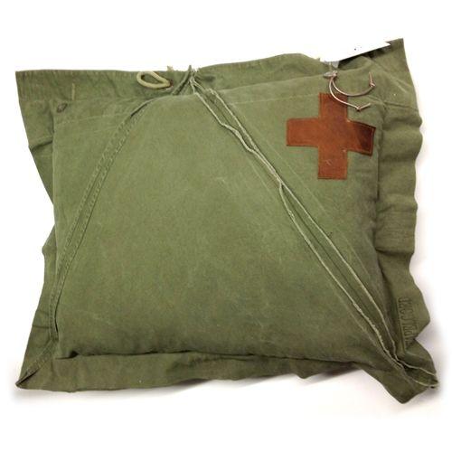 Stapelgoed Stapelgoed kussen Envelop munitie avontuur - Legergroen