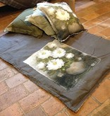 Stapelgoed Stapelgoed plaid Palet Bloemen - Grijs