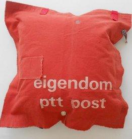 Stapelgoed Kussen PTT post Rood