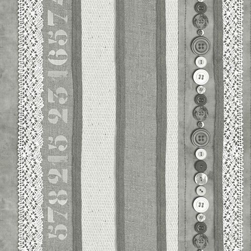 Stapelgoed Stapelgoed behang Lace & Buttons