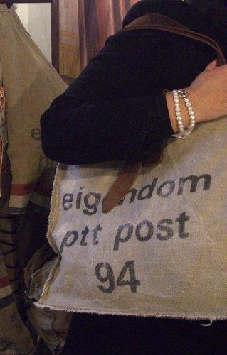 Stapelgoed Stapelgoed tas shopper PTT stoer