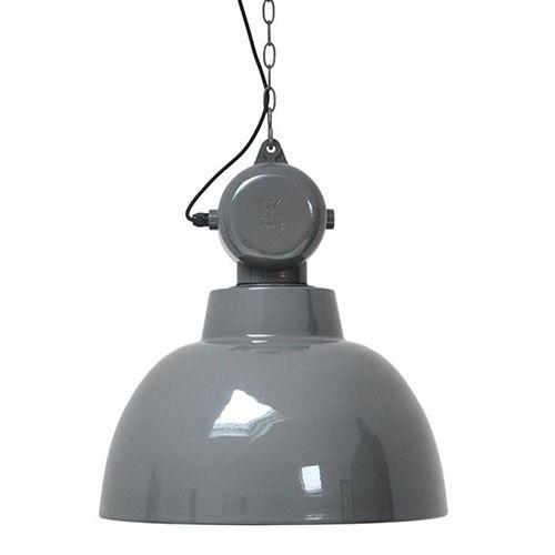 HKliving HK Living hanglamp Factory - grijs/bruin