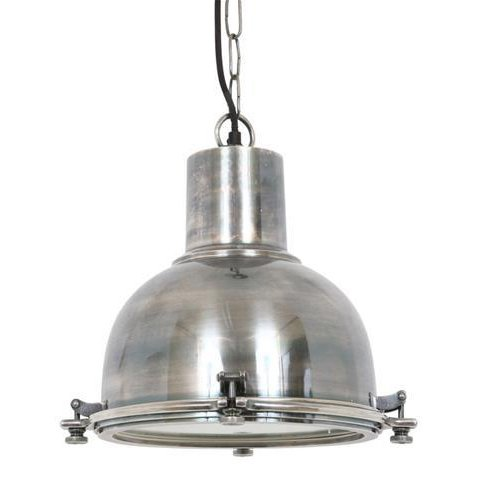 Industriële verlichting IndustriÃ«le hanglamp Kingston Antiek Zilver