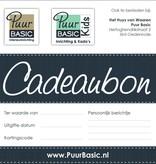 Puur Basic Interieur & Kids Cadeaubon €25