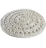 Naco Gehaakt vloerkleed crochet OffWhite