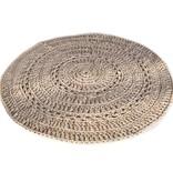 Naco Gehaakt vloerkleed crochet Zand