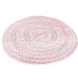 Naco Gehaakt vloerkleed Roze