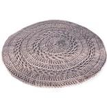 Naco Gehaakt vloerkleed crochet Oudroze