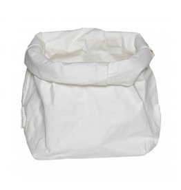Puur Basic Home selection Paperbag Wit