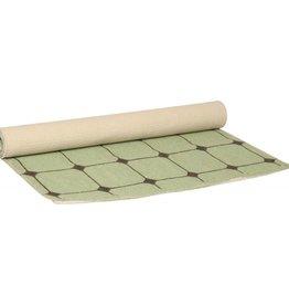 Present Time Vloerkleed tiles groen present time