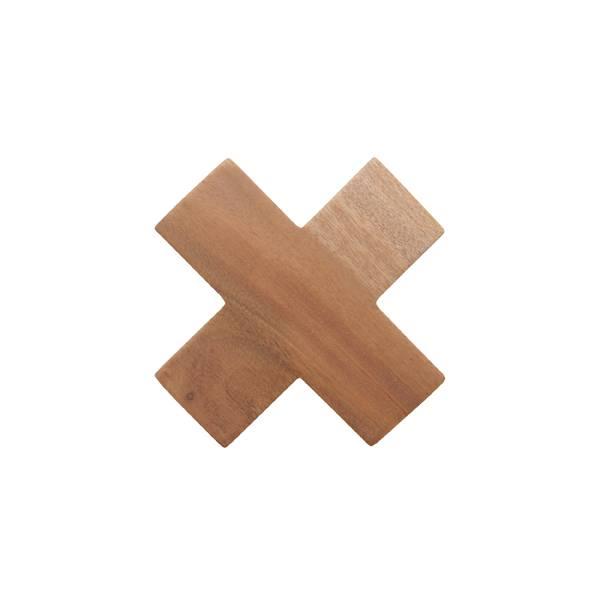 HKliving Kapstok kruishaak hout M