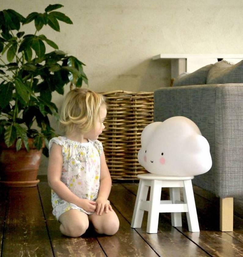 a Little Lovely Company A Little Lovely Company Cloud Light White - Nachtlampje wolk
