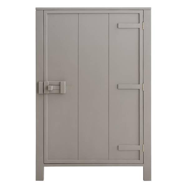Hk Living HK living houten 1 deur kast - Taupe