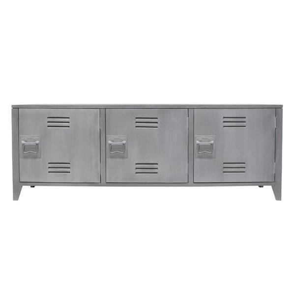 Hk Living Locker Kast Tv Meubel Wandkast Grijs