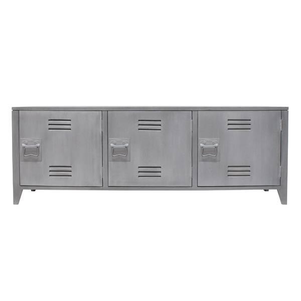 Hk Living HK living locker kast tv meubel / wandkast - Grijs