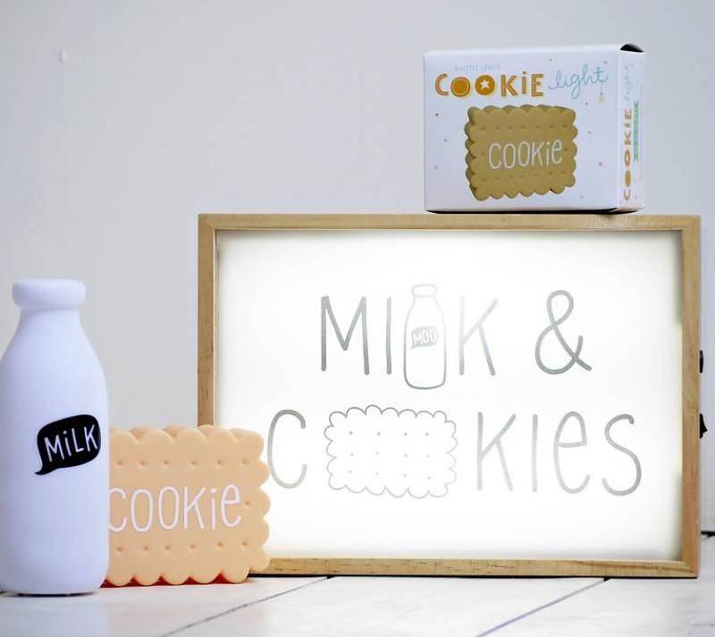 a Little Lovely Company A Little Lovely Company Mini melklampje - Nachtlampje