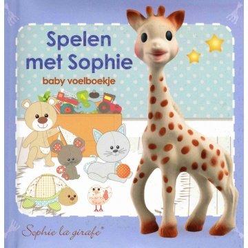 Sophie de Giraf Sophie de Giraf baby voelboekje: Spelen met Sophie