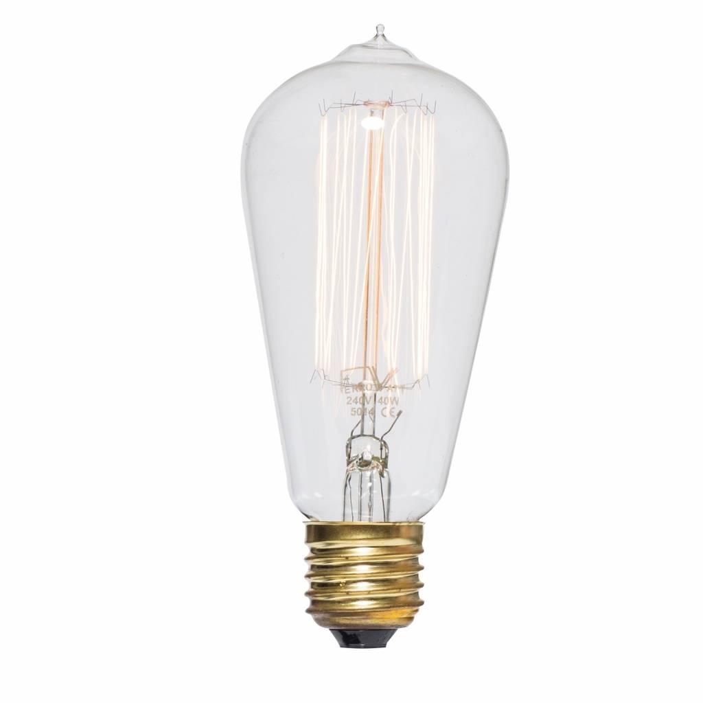 Lichtlab Kooldraad gloeilamp 40W - Edison