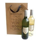 Puur Basic Home selection Wijn geschenkverpakking Kraft 2 flessen