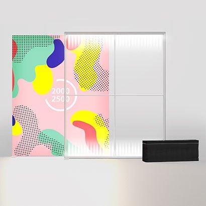 PIXLIP GO LED200x250 cm