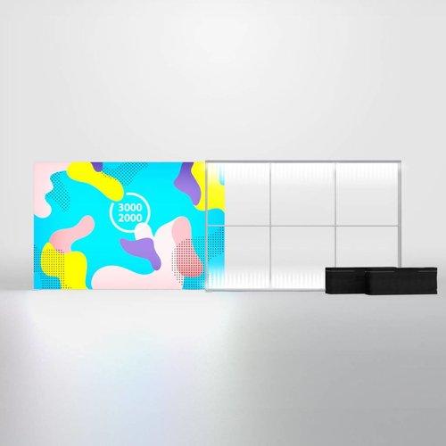 PIXLIP GO LED 300x200 cm