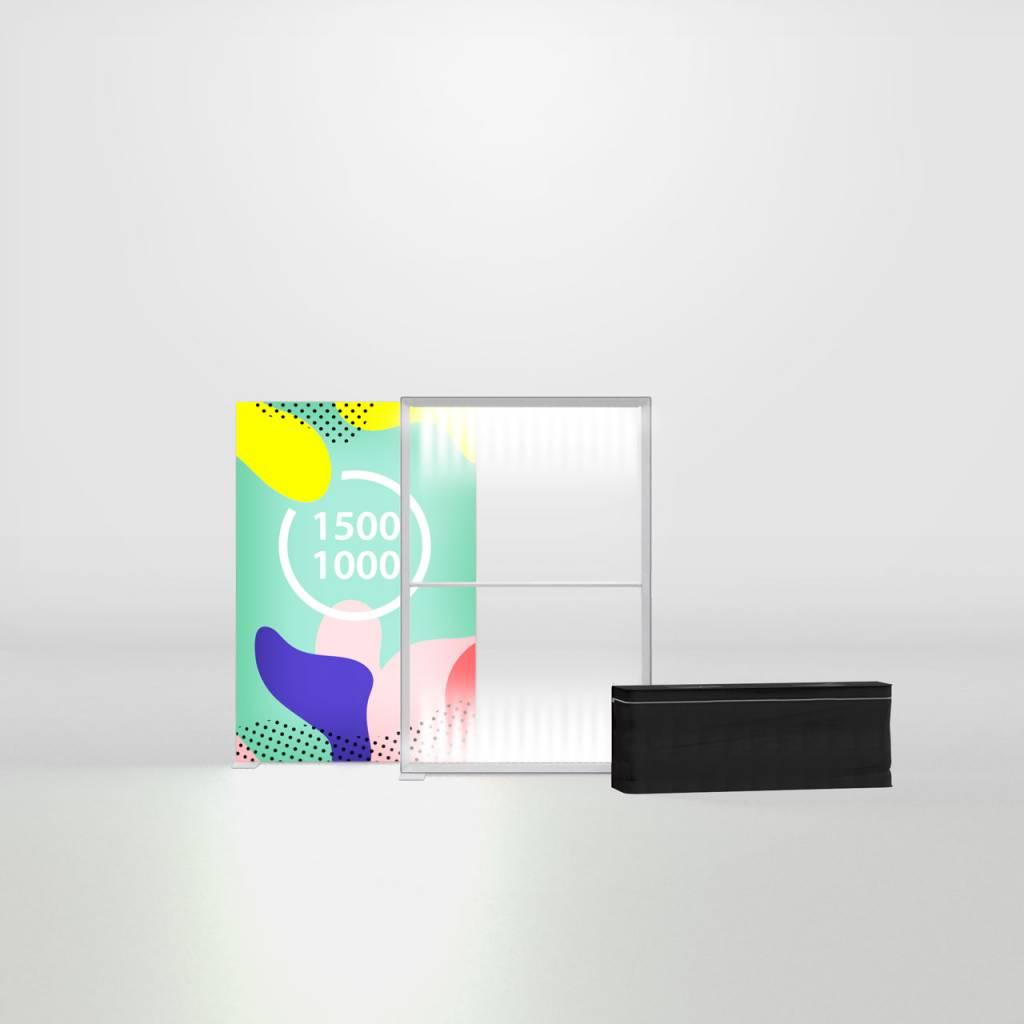 PIXLIP GO LED 150x150 cm