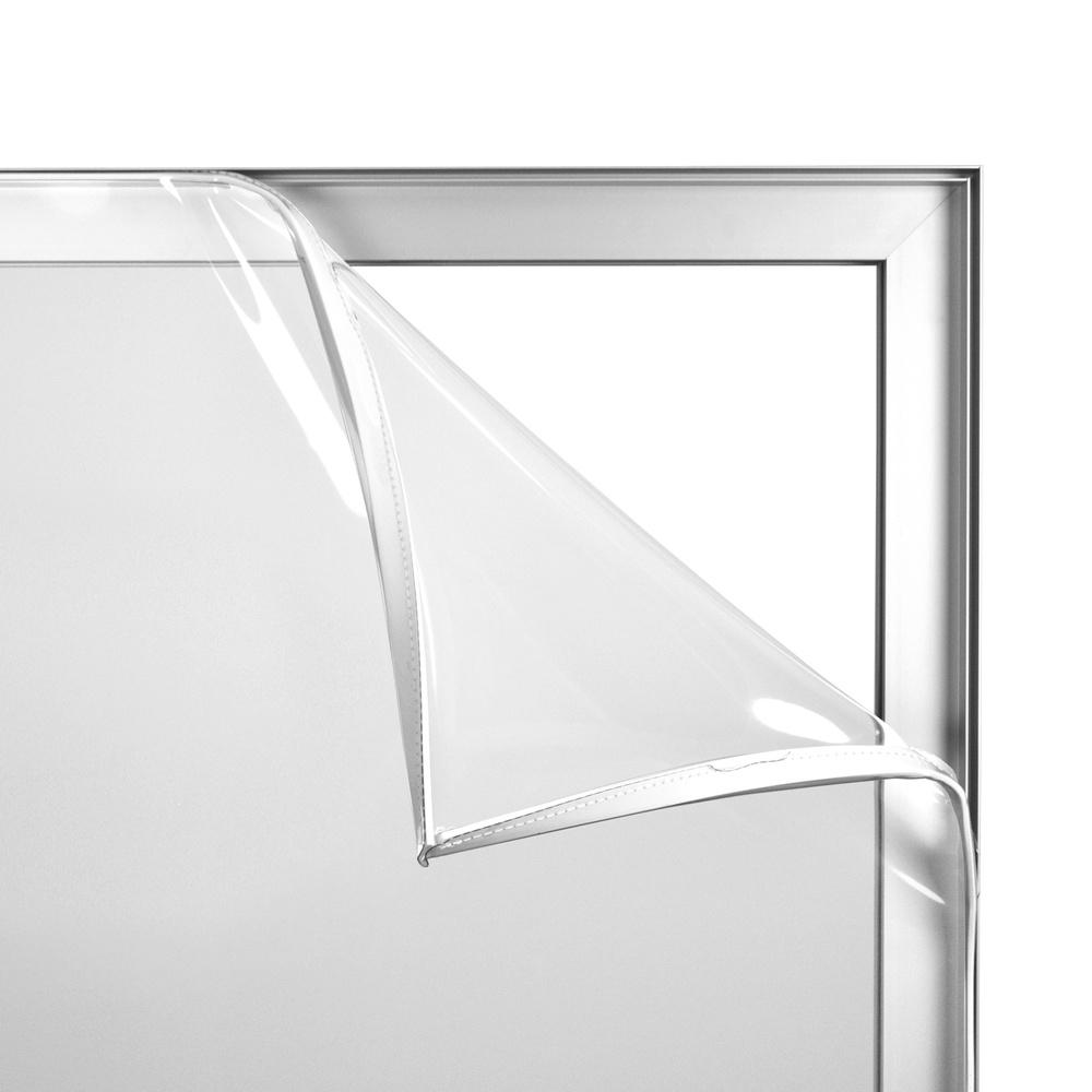 Textielframe Scheidingswand transparant