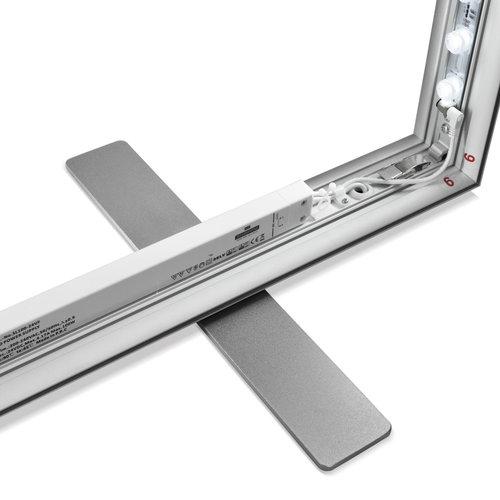 Ledwand LED FRAME 100x200  Dubbelzijdig