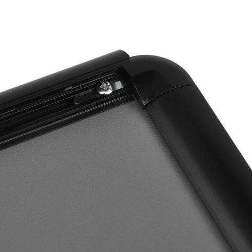 KLIKLIJSTEN Kliklijst TASMANIE zwart 25 mm