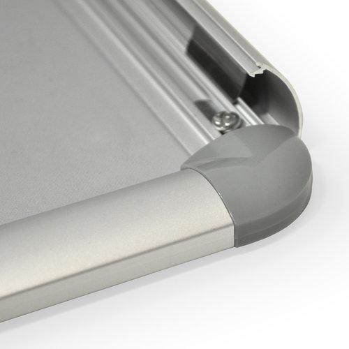 KLIKLIJSTEN Kliklijst TASMANIE zilver 25 mm