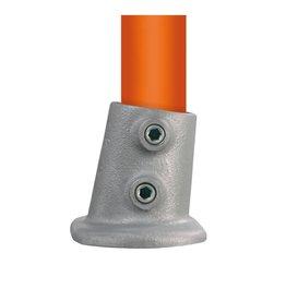 BUISKOPPELING 012 S - Ovale voetplaat variabele hoek