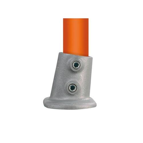 Buiskoppeling BUISKOPPELING 012 S - Ovale voetplaat variabele hoek