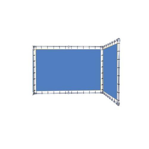 HUUR SPANDOEKFRAME L-vorm variabele hoek