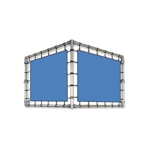 SPANDOEKFRAME V-vorm